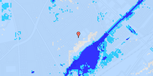 Ekstrem regn på Bispebjerg Bakke 23, 6.