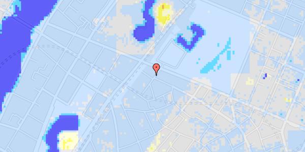 Ekstrem regn på Rosenborggade 15