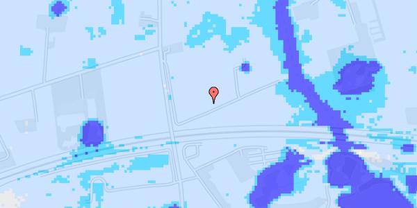 Ekstrem regn på Pilevangsdal 1C