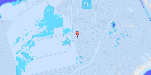 Ekstrem regn på Frederiksborgvej 118C