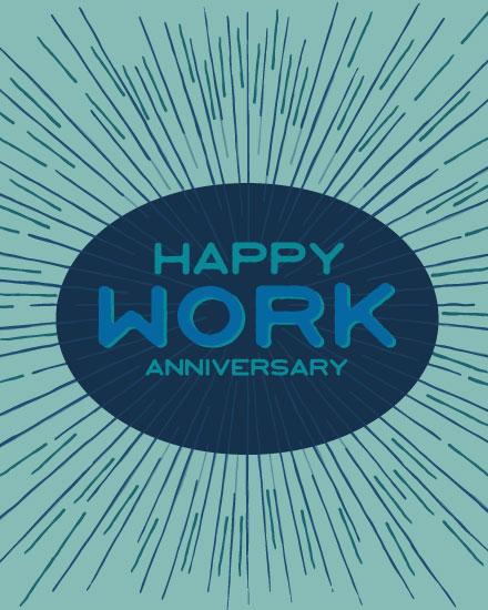 anniversary card happy work anniversary