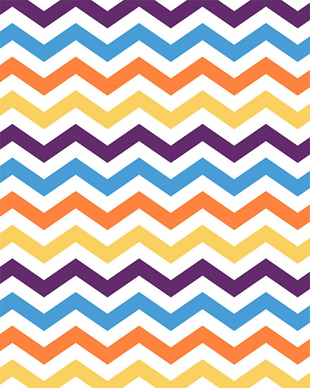any occasion card chevron pattern