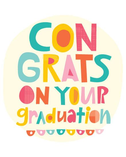 graduation card congrats on your graduation