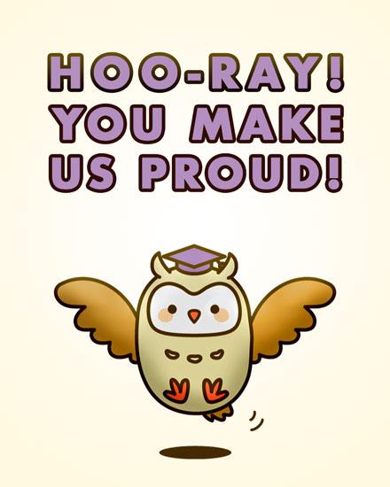 congratulations hooray owl graduate