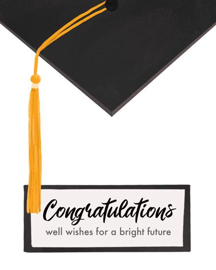 graduation bard and tassel