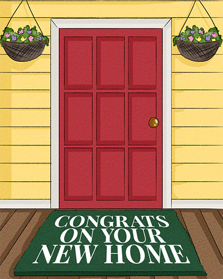 congratulations card new home