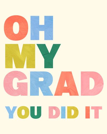 graduation card oh my grad