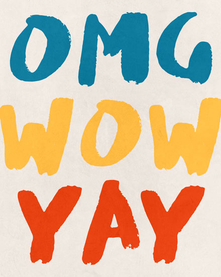 congratulations card omg wow yay