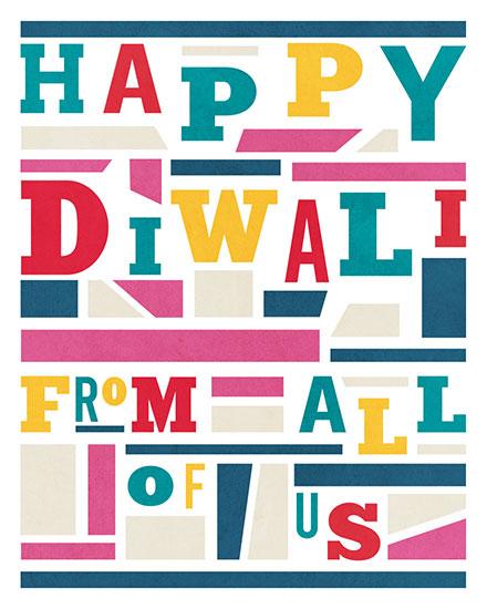 diwali card happy diwali from all of us