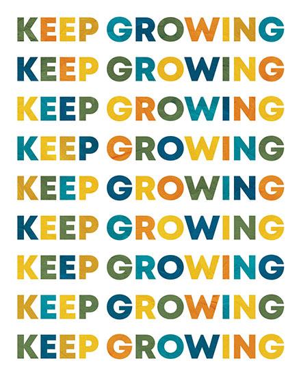encouragement card keep growing