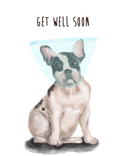 get well sooon card get well boston terrier