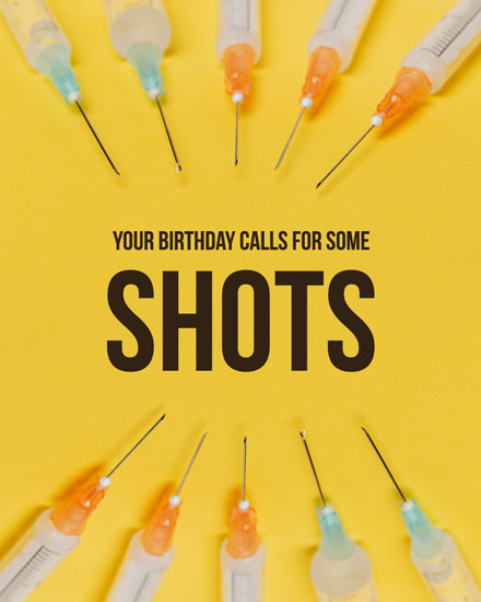 happy birthday card birthday shots