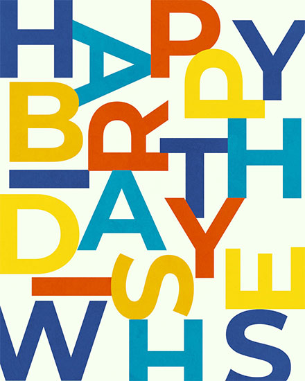 birthday card happy birthday wishes jumbled letters