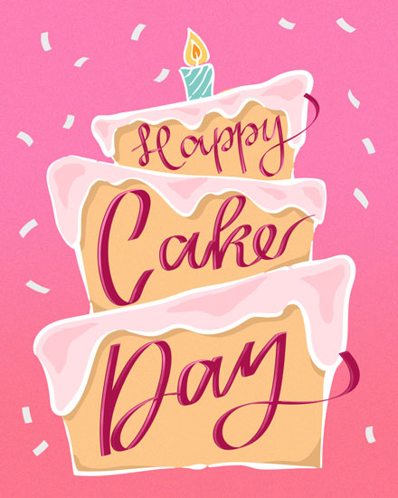 happy birthday card happy cake day
