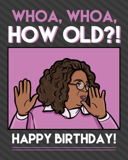 birthday card oprah meme