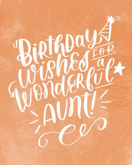 birthday card birthday wishes for a wonderful aunt