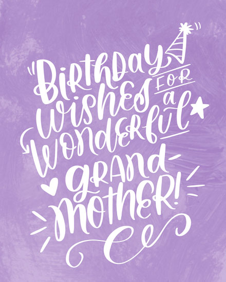 birthday card birthday wishes for a wonderful grandmother
