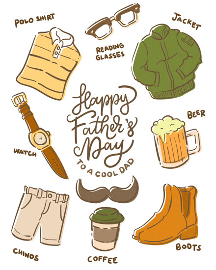 fathers day card fathers day icons