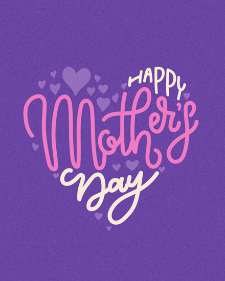 mothers day card mothers day heart