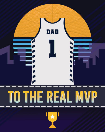 fathers day card to the real mvp basketball jersey