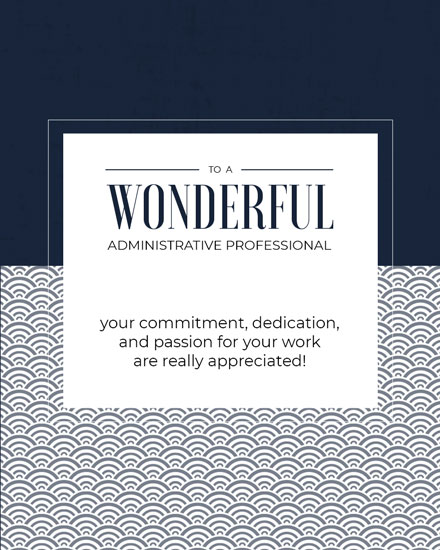 admin day card wonderful admin professional