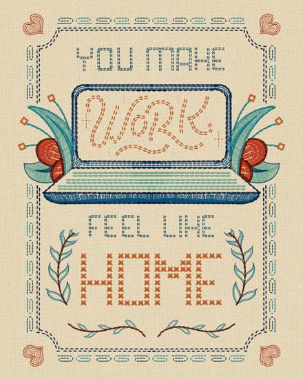 admin day card you make work feel like home