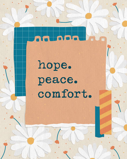 sympathy card hope peace comfort