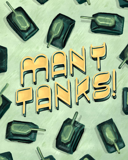 thank you card many tanks