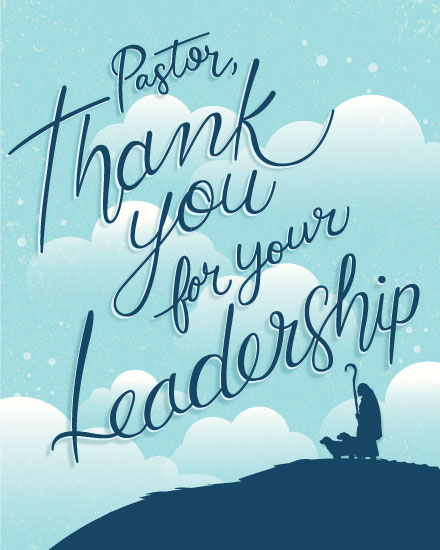 thank you card pastor appreciation