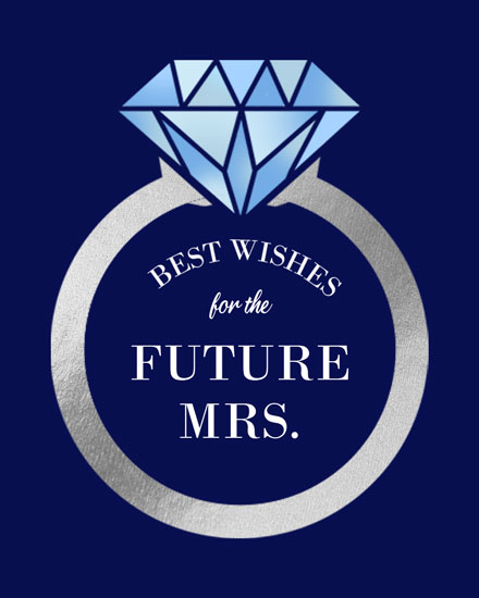wedding card best wishes for the future mrs