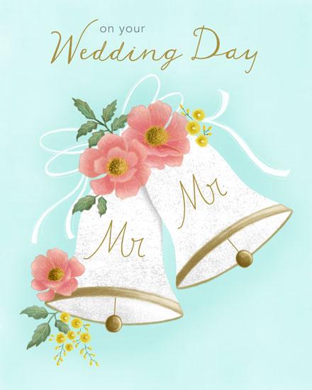 wedding card mr and mr wedding bells