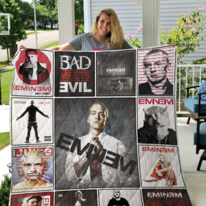 Eminem Style Three Quilt Blanket