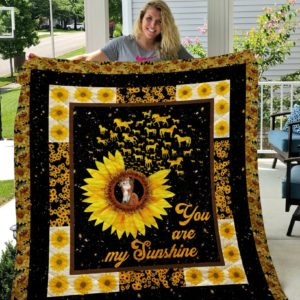 You Are My Sunshine Style Four Quilt Blanket
