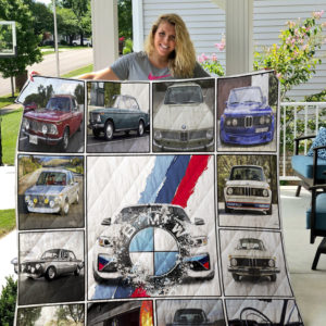 BMW 2002 Turbo Quilt Blanket