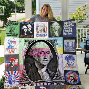 George Washington Quilt Blanket