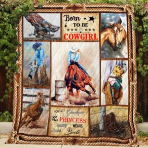 Born to be a Cowgirl Quilt