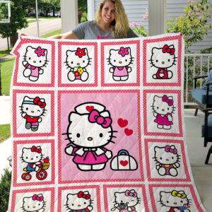 Hello Kitty Quilt Blanket