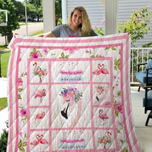 Flamingo Quilt Blanket