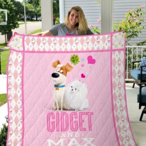 The Secret Life of Pets - Gidget and Max Quilt