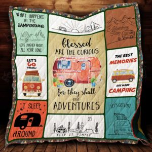 Best Memories Made Camping Quilt