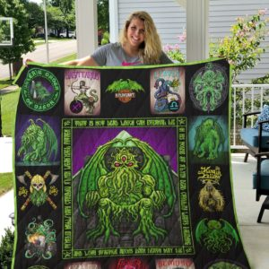 Cthulhu Quilt Blanket 01