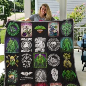 Cthulhu Quilt Blanket 02