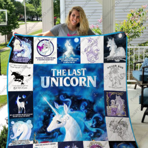 The Last Unicorn Quilt Blanket New Ver 17