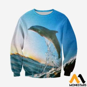 3D All Over Printed Dolphin Tops