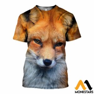 3D All Over Printed Nice Fox Tops