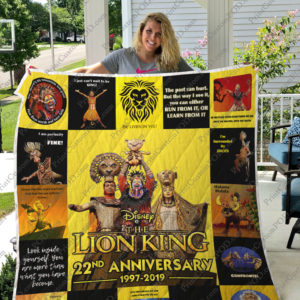 Broadway – The Lion King (musical) 22nd Anniversary Quilt Blanket ver 17