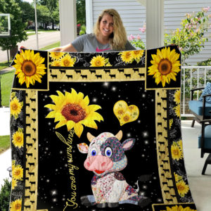 Cow Quilt Blanket Style 1