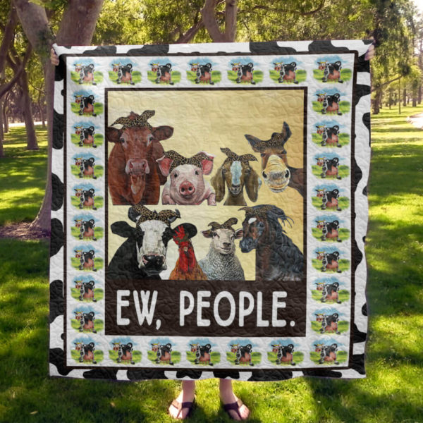 Cow Quilt Blanket Style 3