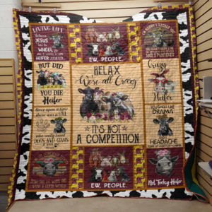 Cow Quilt Blanket Style 4