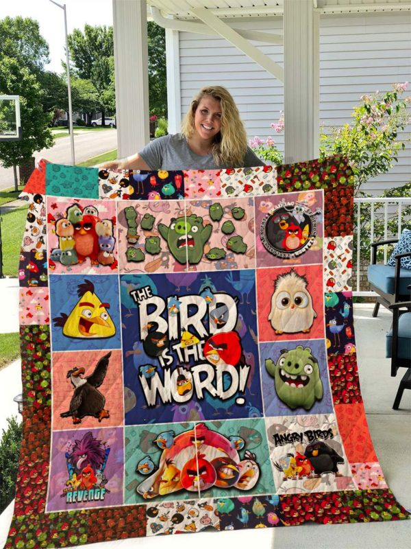 Angry Birds Quilt I2D2